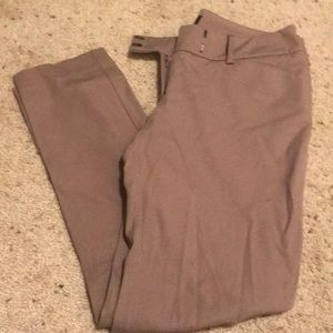 Mossimo tan stretch ankle skinny pants